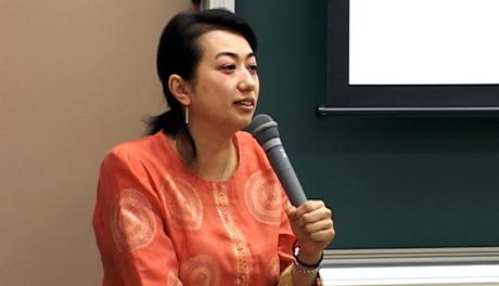 元ピースウィンズ・ジャパン 平井礼子さんの講演会が開かれました。