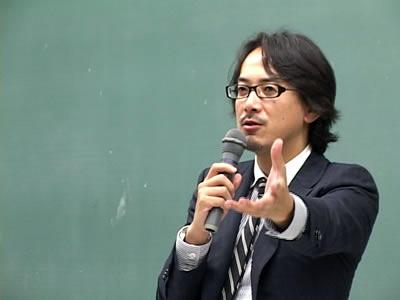 川邊健太郎さんの講演会が開かれました。